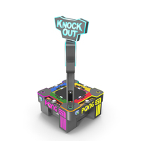 Pong Knock Out Arcade Machine PNG & PSD Images