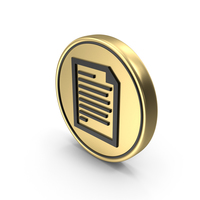 Page Note Coin Logo Icon PNG & PSD Images