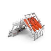 Freefall Lifeboats Hydraulic Launch PNG & PSD Images