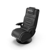 Gaming Chair XRocker Pro Series Pedestal PNG & PSD Images