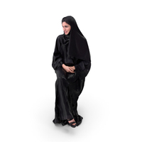 Woman In Hijab PNG & PSD Images