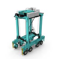 Hybrid Straddle Carrier PNG & PSD Images