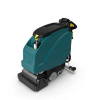 Industrial Floor Cleaning Machine PNG & PSD Images
