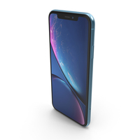 iPhone XR Blue PNG & PSD Images