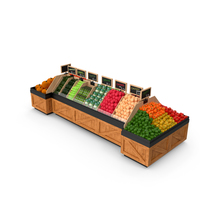 Vegetable Display PNG & PSD Images