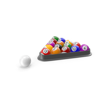 Pool Balls PNG & PSD Images