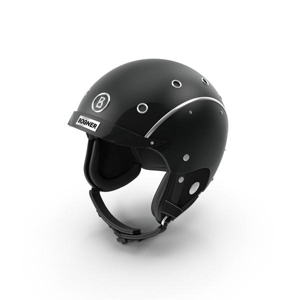 Bogner Ski Helm Black PNG & PSD Images