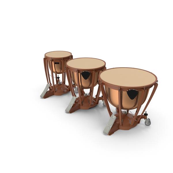 Kettle Drums Set PNG & PSD Images