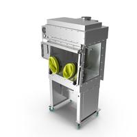 Laminar Flow Glovebox Sterile Isolator PNG & PSD Images