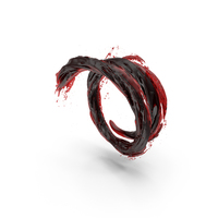 Blood Vortex Tunnel PNG & PSD Images