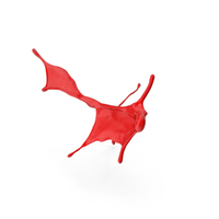 Abstract Red Paint Splash PNG & PSD Images
