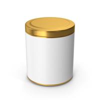 Kitchen Jar Gold PNG & PSD Images