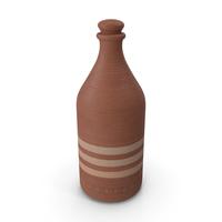 Cartagena Ceramic Bottle PNG & PSD Images