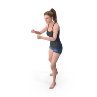 Woman Boxing PNG & PSD Images