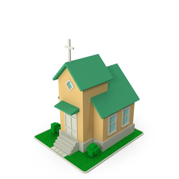 Cartoon Church PNG & PSD Images
