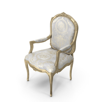 Cappellini Louis XV Armchair PNG & PSD Images