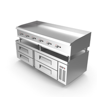 Commercial Griddle PNG & PSD Images
