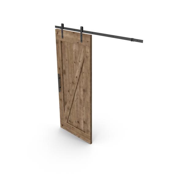 Wooden Sliding Door PNG & PSD Images
