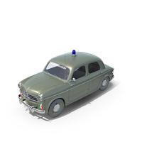 Fiat 1100 Carabinieri 1954 PNG & PSD Images