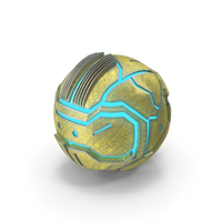 Techno Sphere Glow Textured PNG & PSD Images