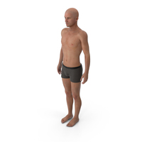 Athletic Man Standing PNG & PSD Images
