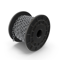 Plastic Bobbin Steel Chain PNG & PSD Images