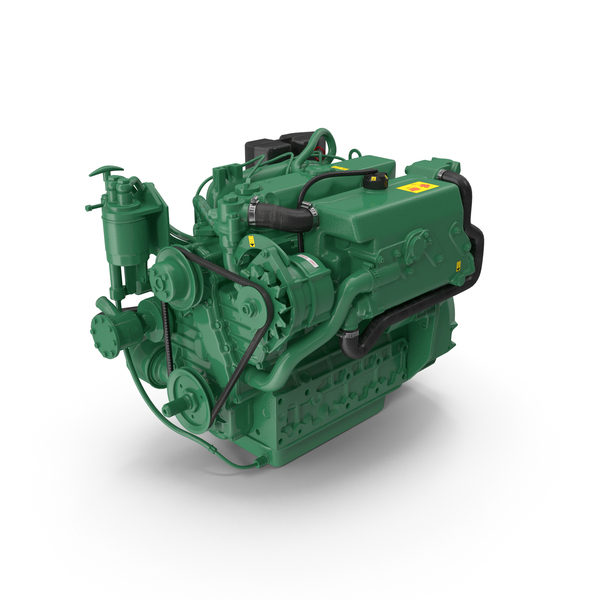 Marine Diesel Engine PNG & PSD Images