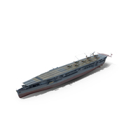Japanese Aircraft Carrier Zuiho 1942 PNG & PSD Images