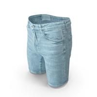 Men's Shorts  Light Blue PNG & PSD Images