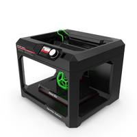 3d Printer MakerBot Replicator PNG & PSD Images