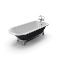 Vintage Bathtub Essex Cast Iron PNG & PSD Images