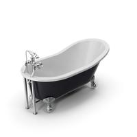 Vintage Bathtub Kent Cast Iron PNG & PSD Images