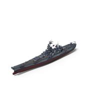 Battleship USS Iowa BB-61 WWII 1942-1945 PNG & PSD Images