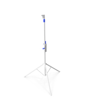 Adjustable Tripod Stand White PNG & PSD Images