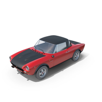 Fiat 124 Abarth Rally 1973 PNG & PSD Images