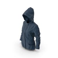 Women's Jacket Blue PNG & PSD Images