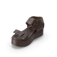 Women's Sandals Brown PNG & PSD Images