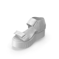 Womens Sandals White PNG & PSD Images