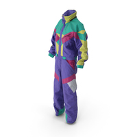 Women's Winter Sport Coverall PNG & PSD Images