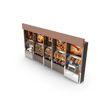 Bread and Bagel Wall PNG & PSD Images