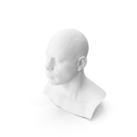 3D Head Scan PNG & PSD Images