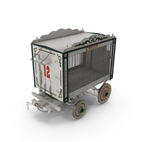 Antique Circus Wagon PNG & PSD Images