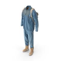 Men's Jeans Pullover Boots Backpack T-shirt Beige Blue PNG & PSD Images
