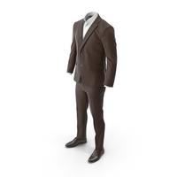 Men's Suit Brown PNG & PSD Images