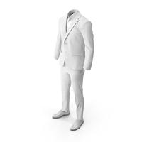 Men's Suit White PNG & PSD Images