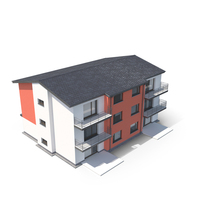 Modern Apartment House PNG & PSD Images