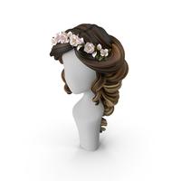 Cartoon Hair (Bride Hair Style) PNG & PSD Images
