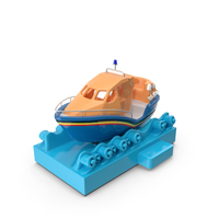 Kiddie Ride Long Life Boat PNG & PSD Images