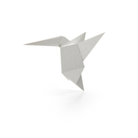 Origami Colibri PNG & PSD Images