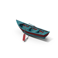 Old Row Boat PNG & PSD Images